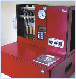 1 pav. Integralus įrenginys plaunamųjų degalų priedams išbandyti
